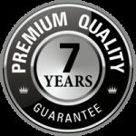 7 Year Guarantee Badge